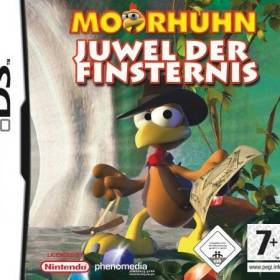 The cover art of the game Moorhuhn: Jewel of Darkness .