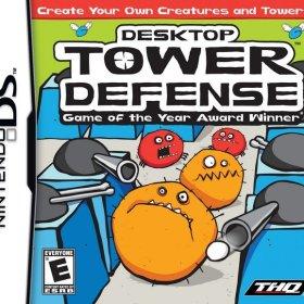 The coverart thumbnail of Desktop Tower Defense