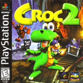 The cover art of the game Croc 2.