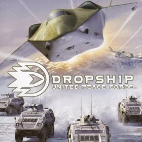 The cover art of the game Dropship: United Peace Force.