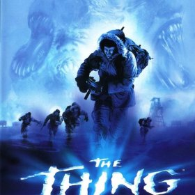 The cover art of the game The Thing.