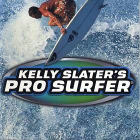 The cover art of the game Kelly Slater's Pro Surfer.