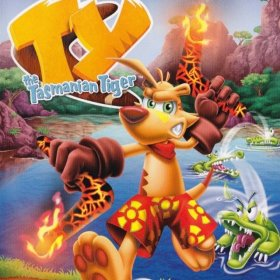 The coverart thumbnail of Ty the Tasmanian Tiger