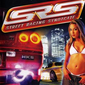 The cover art of the game SRS: Street Racing Syndicate.