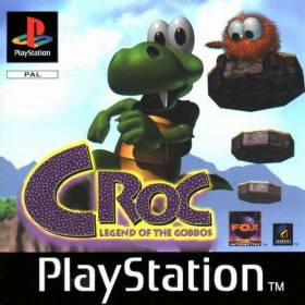 The cover art of the game Croc: Legend of the Gobbos.