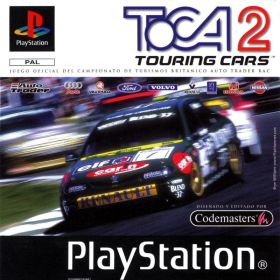 The cover art of the game TOCA 2: Touring Cars.