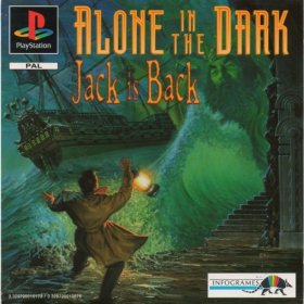 The cover art of the game Alone in the Dark: Jack is Back.
