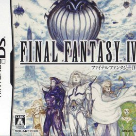 The cover art of the game Final Fantasy IV .