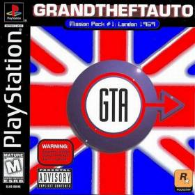 The cover art of the game Grand Theft Auto Mission Pack #1: London 1969.