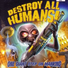 The coverart thumbnail of Destroy All Humans!