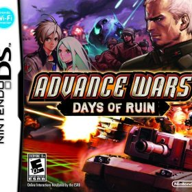 The cover art of the game Advance Wars - Days of Ruin.