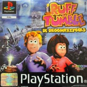 The cover art of the game Ruff & Tumble: De Droomkrijgers.