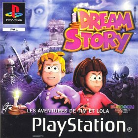 The cover art of the game Dream Story: Les Aventures de Tim et Lola.
