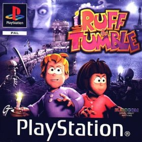 The cover art of the game Ruff & Tumble (Germany).