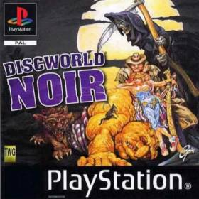 The cover art of the game  Discworld Noir.
