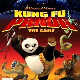 The cover art of the game DreamWorks Kung Fu Panda.