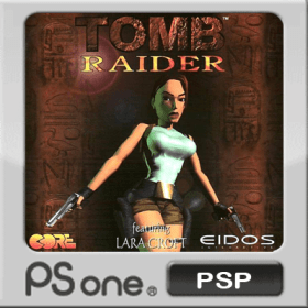 The cover art of the game Tomb Raider.