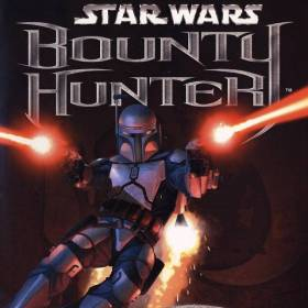 The cover art of the game Star Wars: Bounty Hunter.