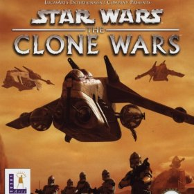 The cover art of the game Star Wars: The Clone Wars (France).