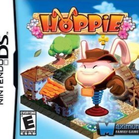 The cover art of the game Hoppie .