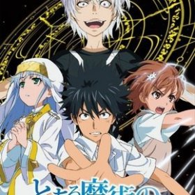 The cover art of the game Toaru Majutsu no Index (English Patched).