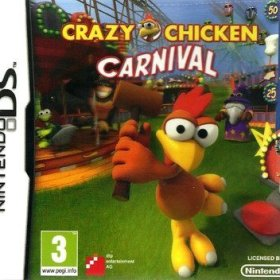 The cover art of the game Crazy Chicken Carnival.