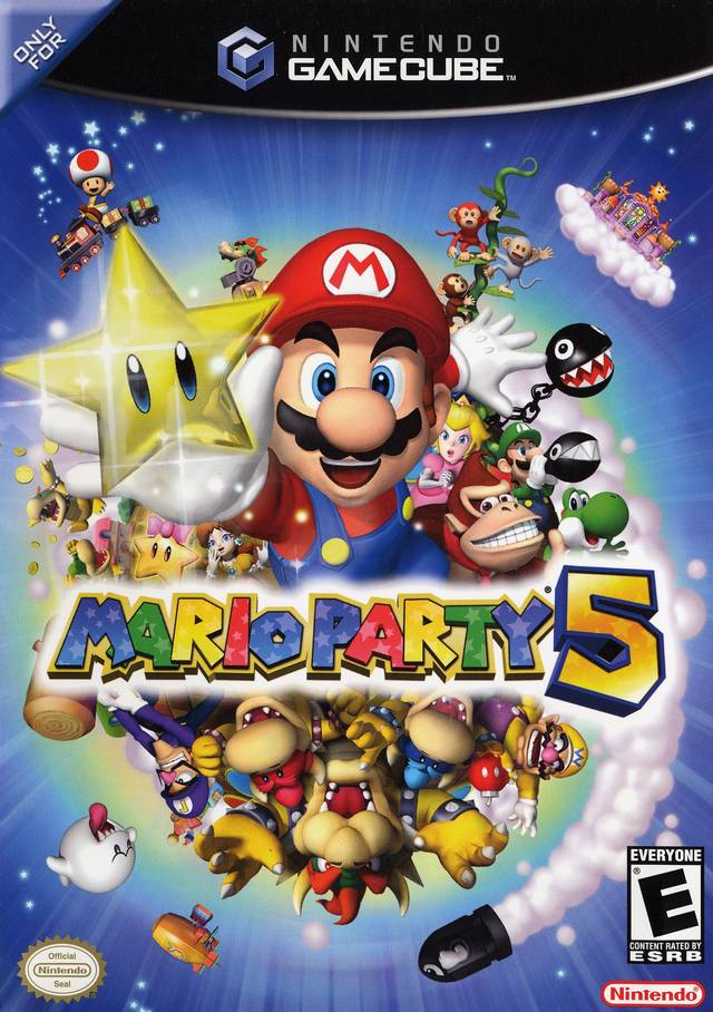 The coverart image of Mario Party 5