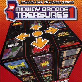 The cover art of the game Midway Arcade Treasures.