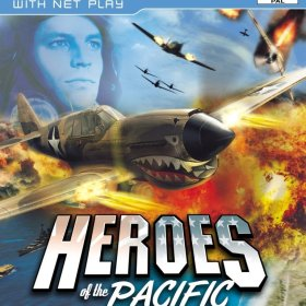 The cover art of the game Heroes of the Pacific.