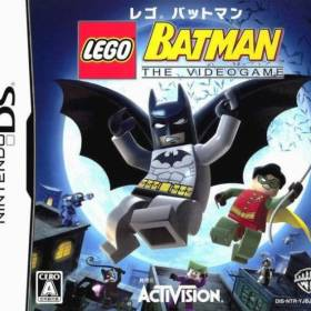 The cover art of the game LEGO Batman - The Videogame.