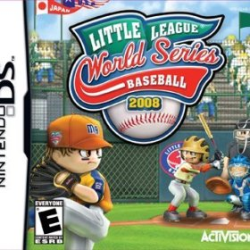 The cover art of the game Little League World Series Baseball 2008.
