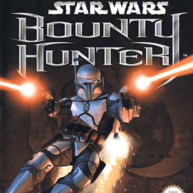 The cover art of the game Star Wars: Bounty Hunter (France).