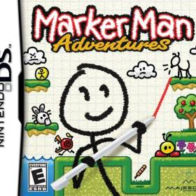The cover art of the game Marker Man Adventures.
