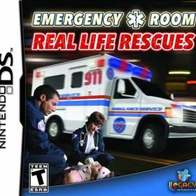 The cover art of the game Emergency Room: Real Life Rescues.