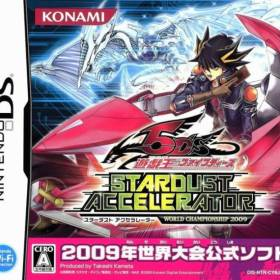 The cover art of the game Yu-Gi-Oh! 5D's - Stardust Accelerator - World Championship 2009 .