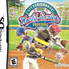 The cover art of the game Little League World Series Baseball 2009.