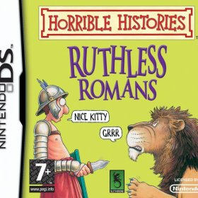 The cover art of the game Horrible Histories: Ruthless Romans.