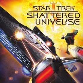 The cover art of the game Star Trek: Shattered Universe.