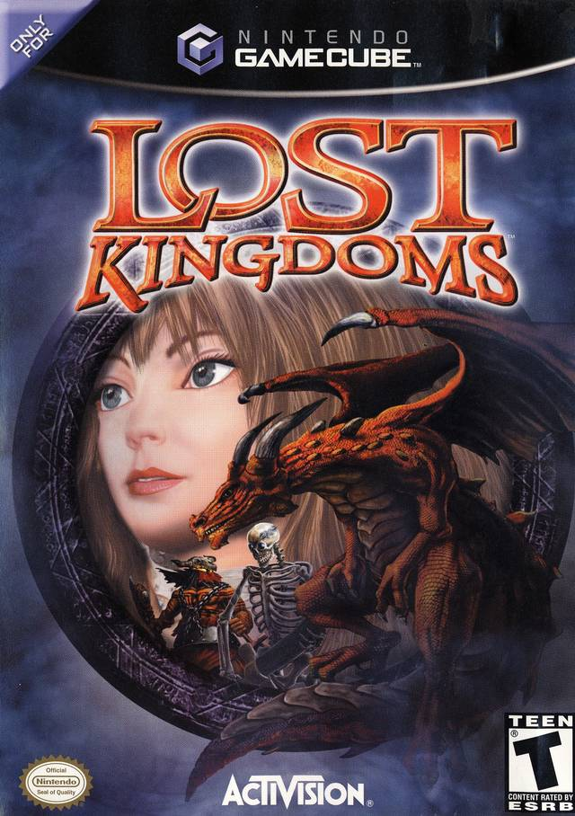 The coverart image of Lost Kingdoms