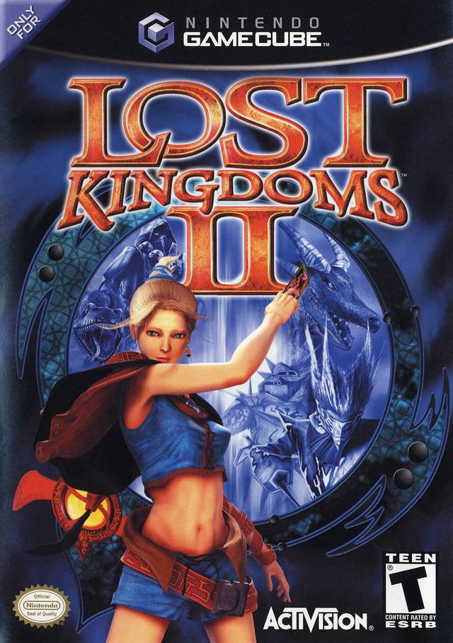 The coverart image of Lost Kingdoms II