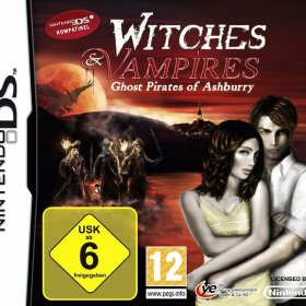 The coverart thumbnail of Witches & Vampires: Ghost Pirates of Ashburry