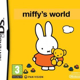 The cover art of the game Miffy's World.