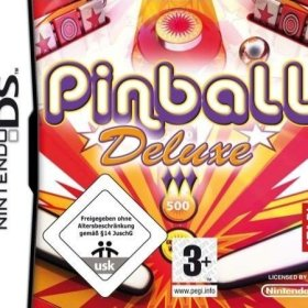 The cover art of the game Pinball Deluxe.