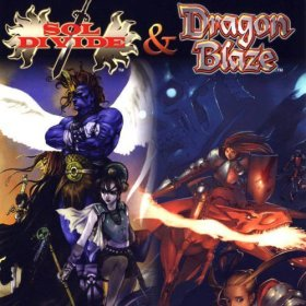 The cover art of the game Psikyo Shooting Collection Vol. 3: Sol Divide & Dragon Blaze.