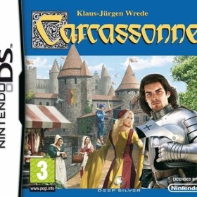 The cover art of the game Carcassonne.