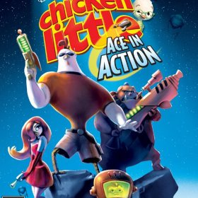 The coverart thumbnail of Disney's Chicken Little: Ace in Action
