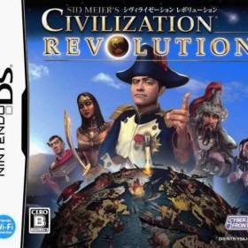 The cover art of the game Sid Meier's Civilization Revolution .