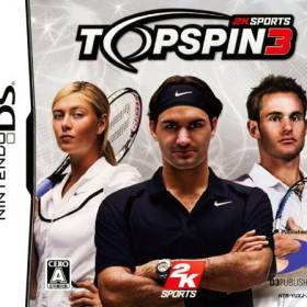 The cover art of the game Top Spin 3.