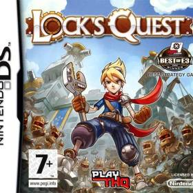 The cover art of the game Locks Quest.