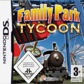 The cover art of the game Family Park Tycoon.